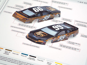 NASCAR 1:64 Scale Die Cast