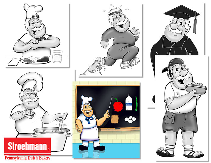 Stroehmann-Chacacters
