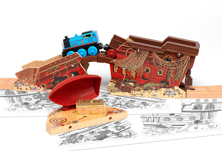 Thomas & Friends Pirate Ship
