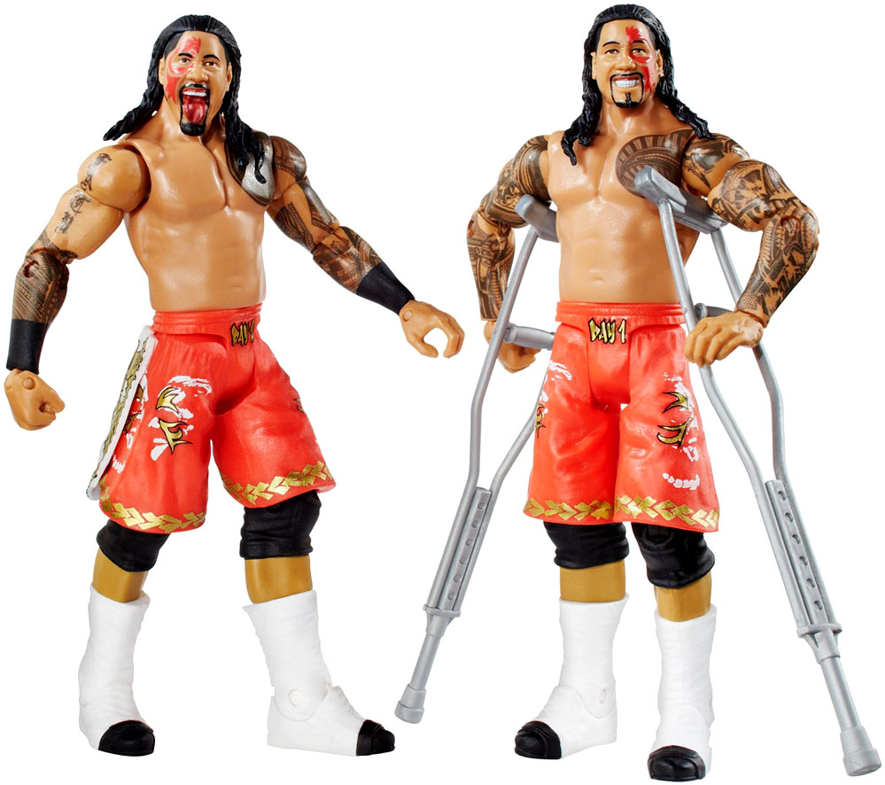 wwe-wrestling-basic-series-32-jimmy-uso-jey-uso-6-action-figure-2-pack-2-crutches-mattel-toys-4