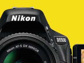 Nikon D5500 Package Development